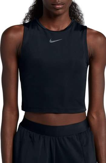 CROPPED RUNNING TOP