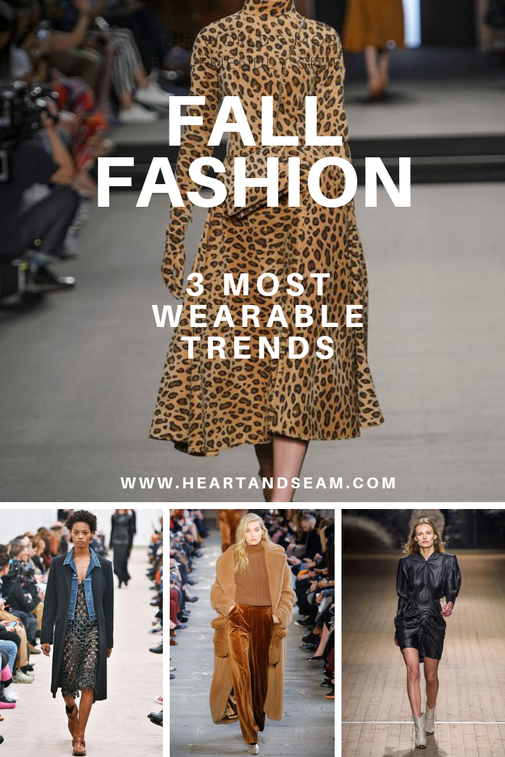 Fall Fashion Trends – Fall Fashion 2018 – Wearable Fall Fashion Trends – Fall Outfit Ideas – Animal Print Outfits – Layering Outfits – Black Leather Outfits – Fashion for Women - #fallfashion #heartandseam www.heartandseam.com