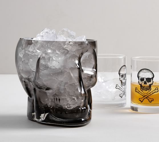 SKULL ICE BUCKET - I need to add this to my collection of Halloween skull decor. It's perfect!SHOP SKULL ICE BUCKET