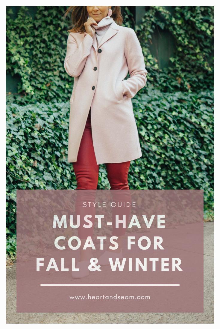 Fall Coats - Winter Coats - Women's Coats - Winter Coats for Women - Best Winter Coats - Winter Coat Outfits - Coats for Winter- Pink Coat Outfits - #wintercoats #heartandseam www.heartanseam.com