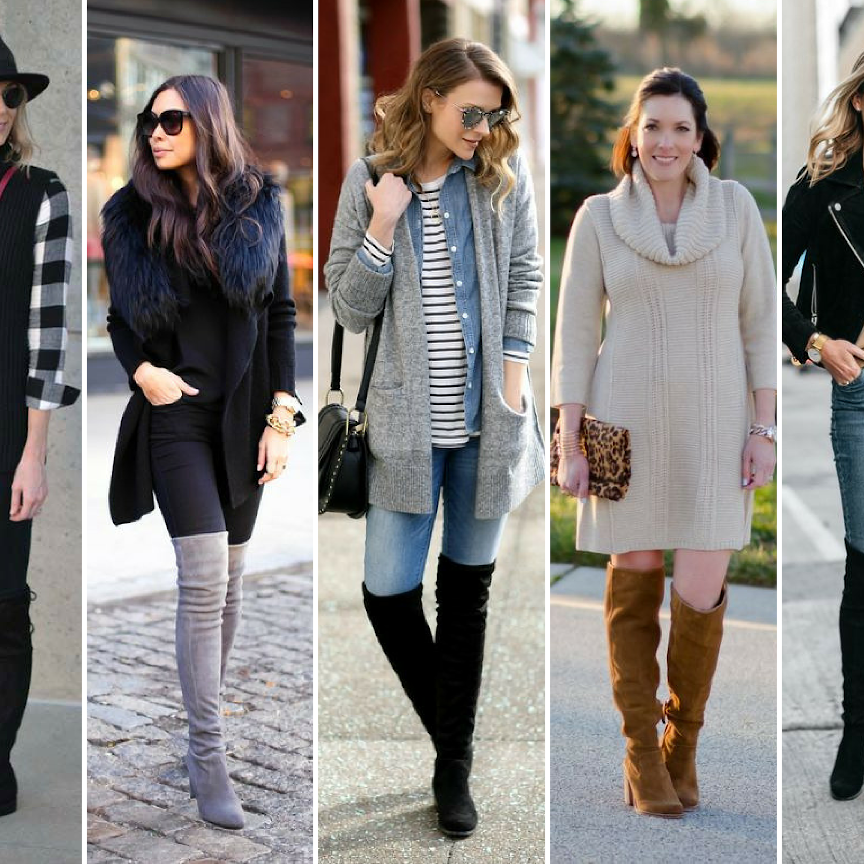 HOW TO STYLE OTK BOOTS -
