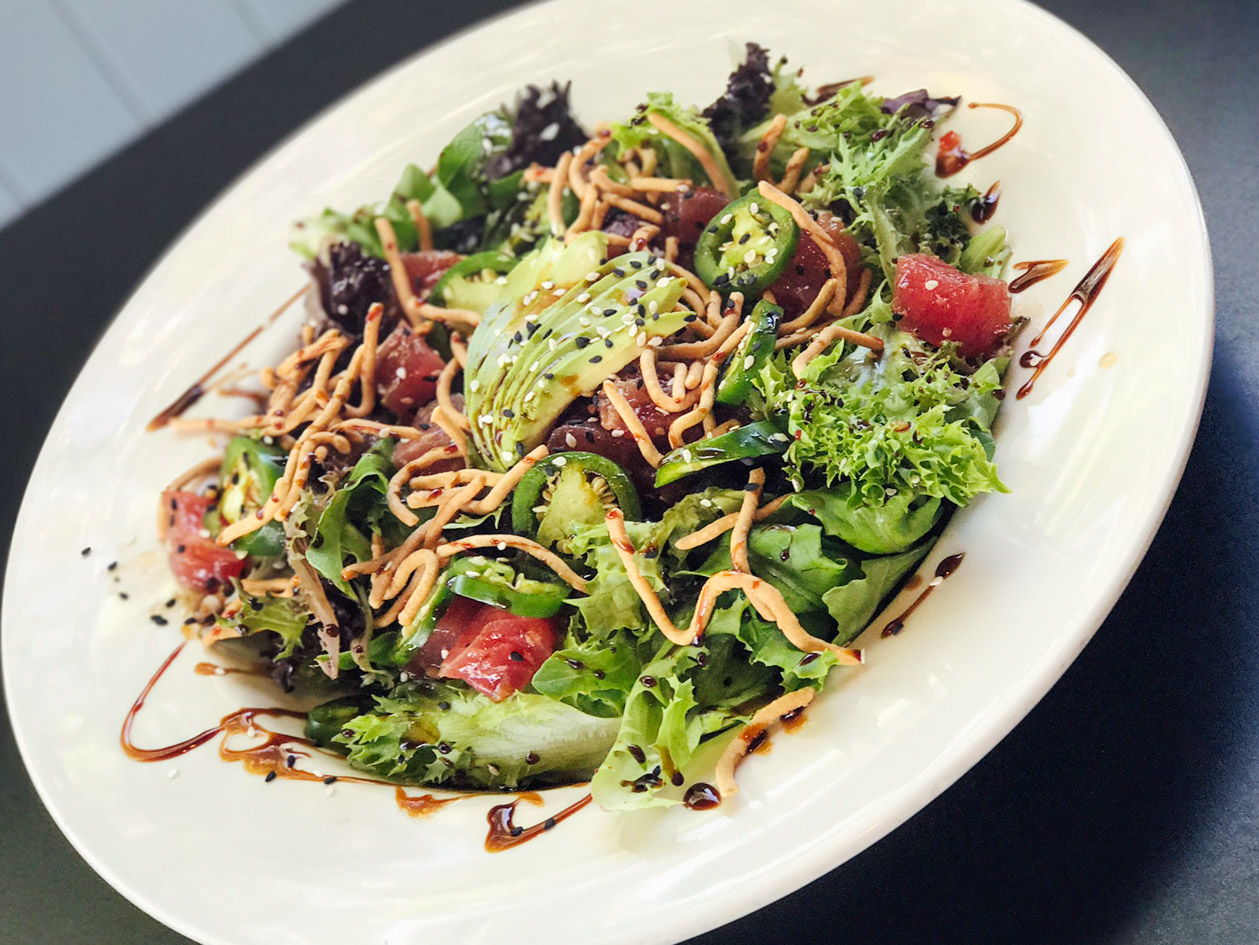 Poke Salad.....$11.00