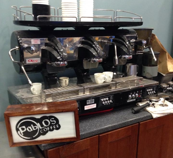 Serving Locally Roasted Pablo's Coffee