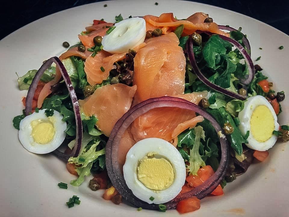 Lox Salad.......$10.50