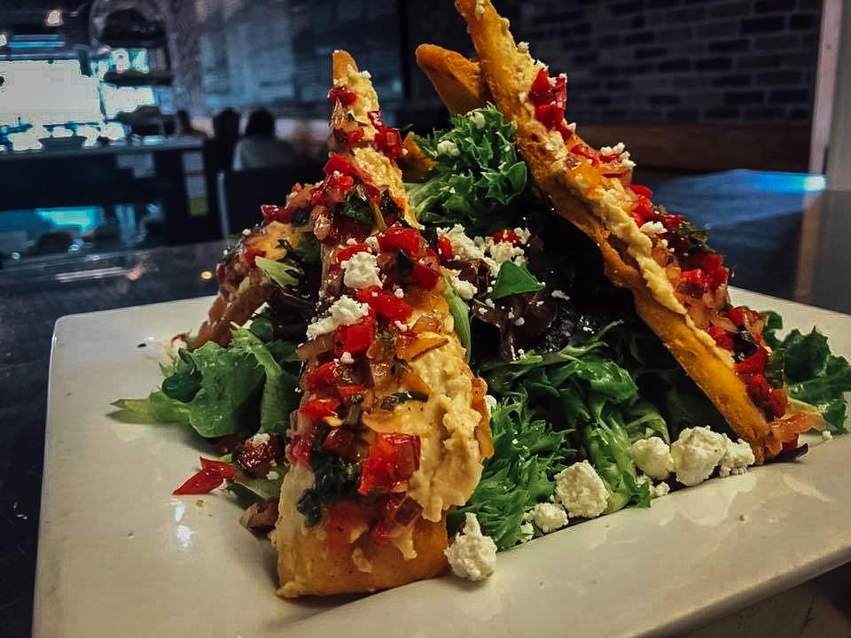Hummus & Pita Salad........$8.00
