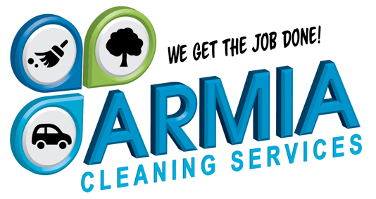 ARMIA CLEANING SERVICES logo