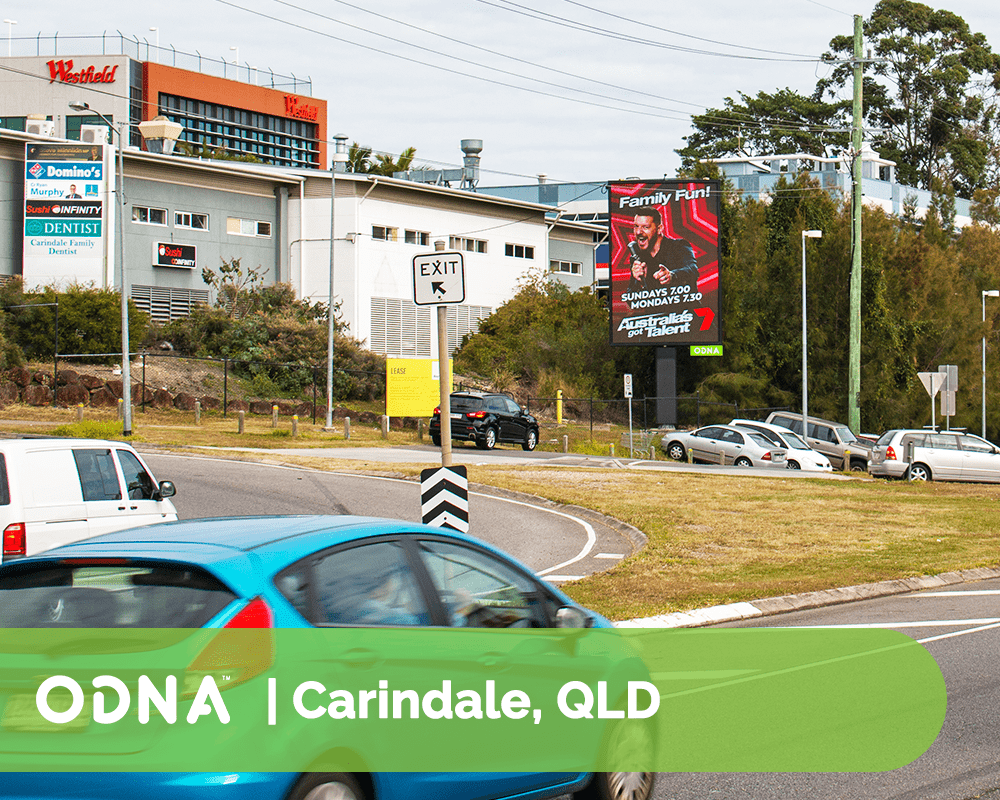 Carindale - ODNA Digital Billboard