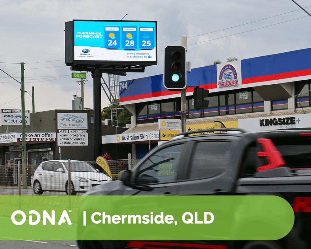 Chermside - ODNA Digital Billboard