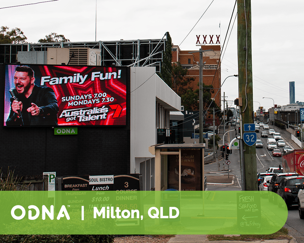 Milton - ODNA Digital Billboard