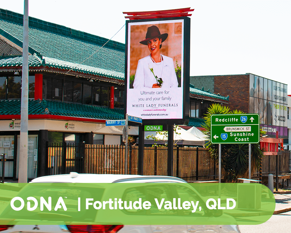 Fortitude Valley - ODNA Digital Billboard