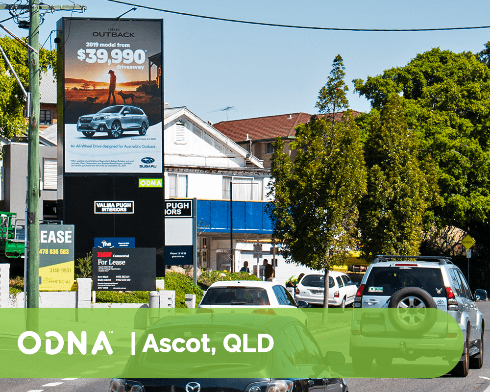 Ascot - ODNA Digital Billboard