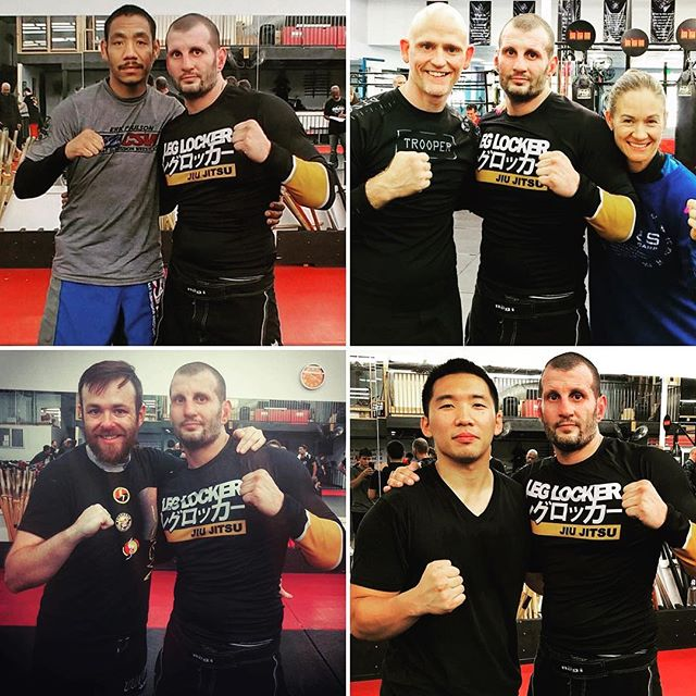 A big shout out to @leg_locker for the hookup for this seminar. A lot of people are scared to buy gear they can't touch first. But trust us, their rash guards are TOP quality. Some Catch-wrestling techniques to follow this week ;) Stay tune! #leglocker #catchwrestling #bjj @martialwaylegacy @markanthonn @shaolinmixedmartialarts @dan_rizzuto