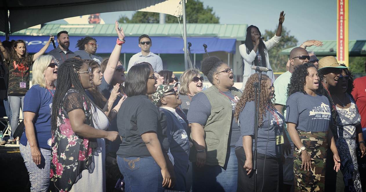SING WITH JESUS RALLY 2018 UNITY CHOIR -