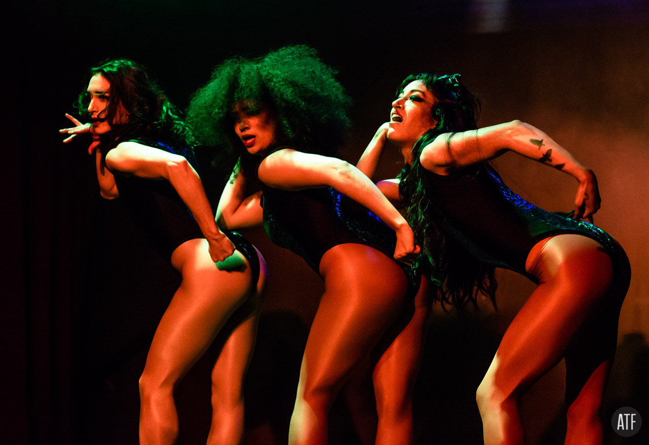 The Chicago Party  with choreographer Brigitte Madera  photo by Andrew T. Foster