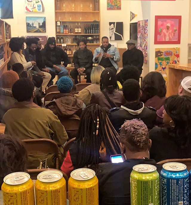 Tonight was exactly what we needed it to be. Real. Thorough. Fun. And Black. Thank you to our amazing panelist and everyone who showed up and filled out the space. Much love to the homies at Hop Shop. Until next time!  #askablackman