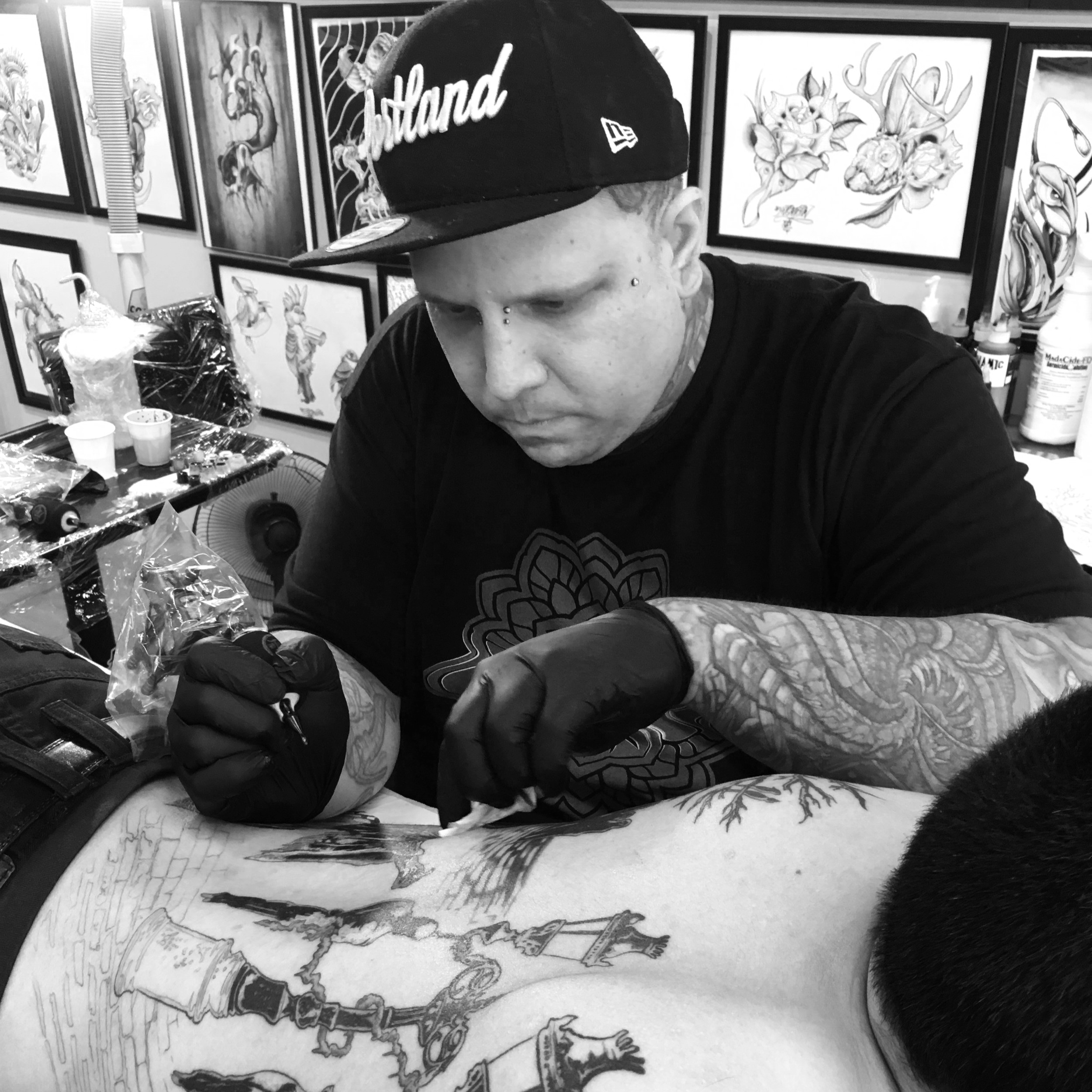 PDX Tattoo artists working at Tattoo 34