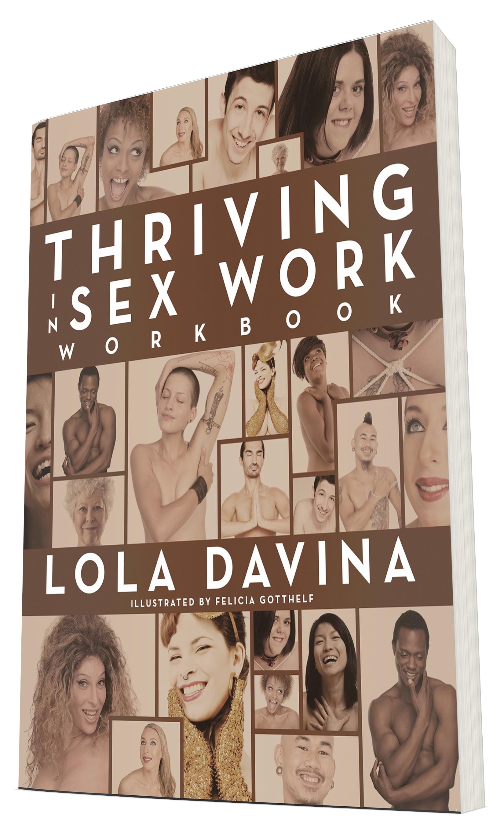 Thriving in Sex Work Workbook ; Design by Albert Ochosa.