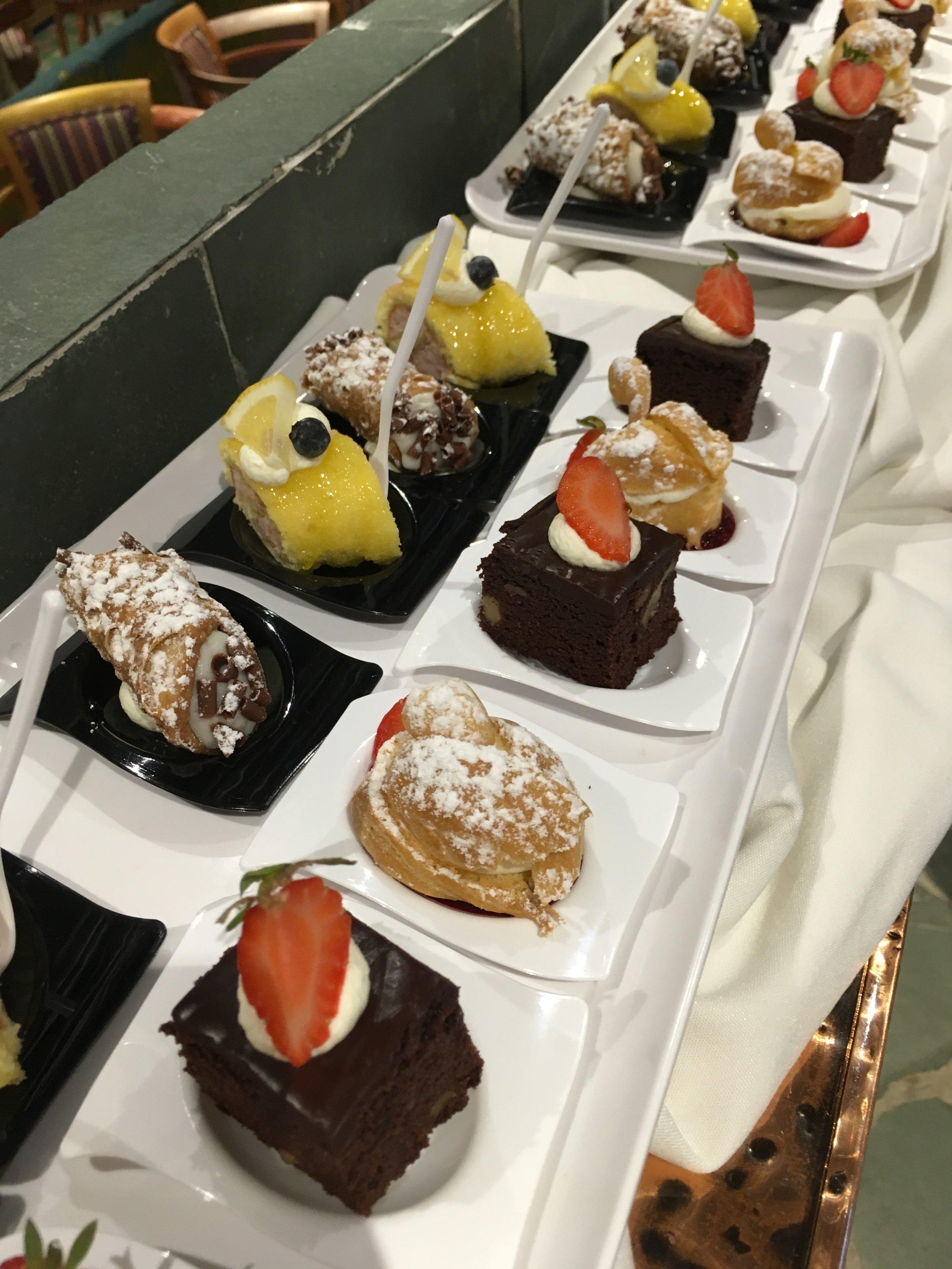 Dessert is served!