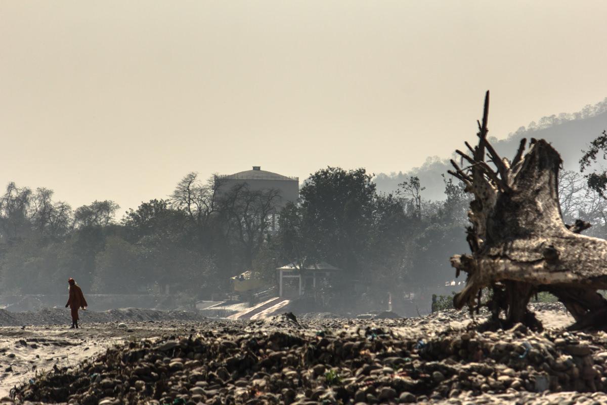 Ganges outside Haridwar, February 2014