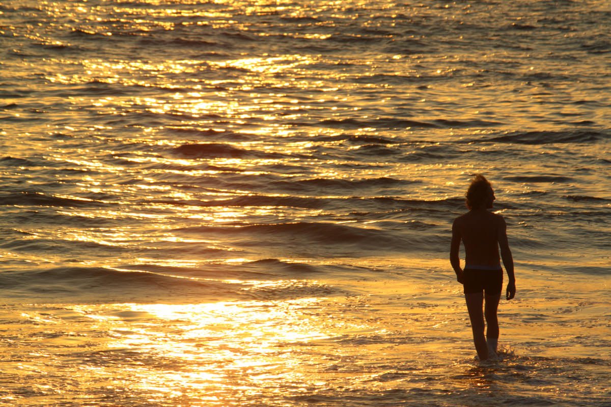 Baga Beach, November 2009