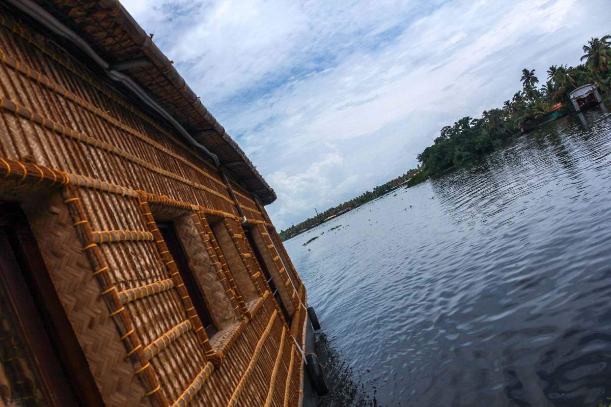 Houseboat, Alleppey, August 2012