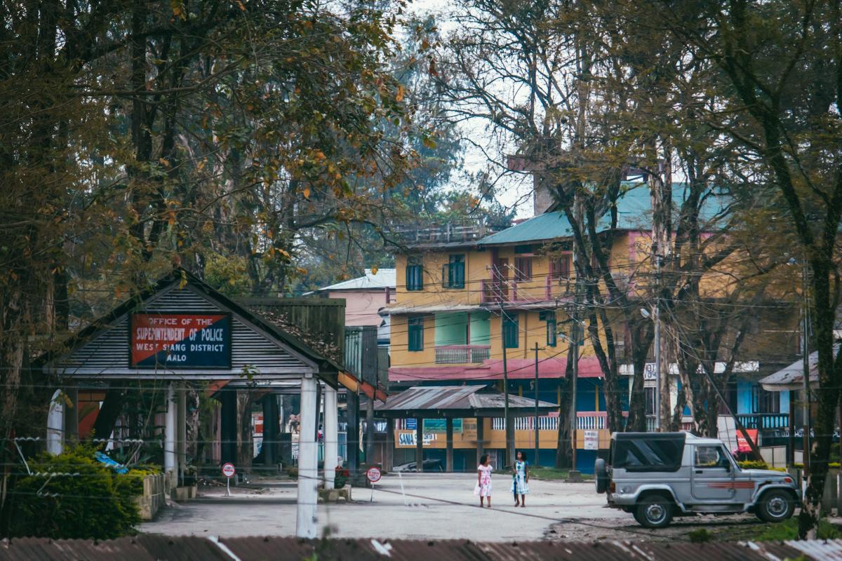 Aalo (Along) - Arunachal Pradesh, April 2015