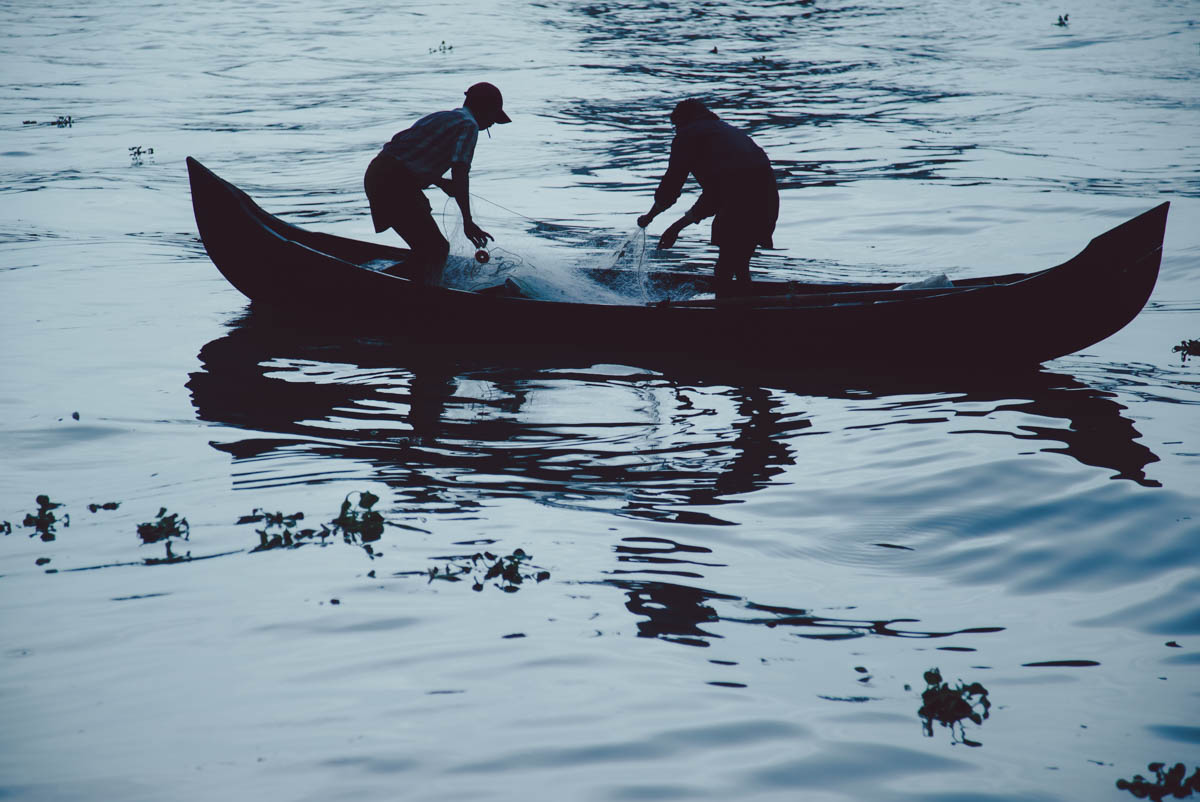 Fishermen - Fort Kochi, June 2015