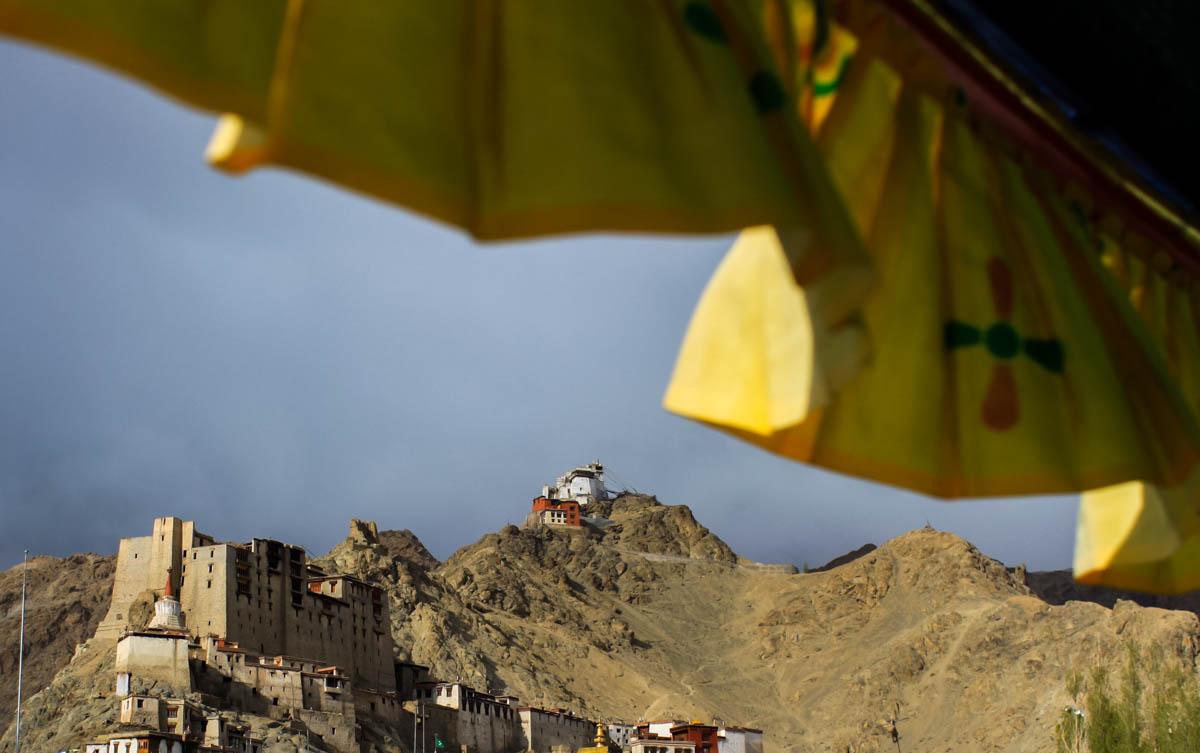 Leh Palace and Sankar Monastery, May 2010