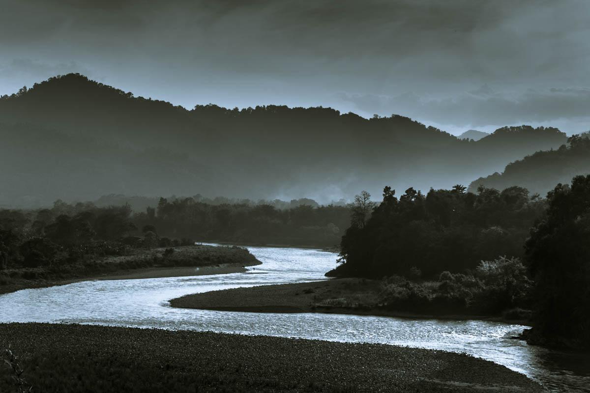 River Siyom, Aalo (Along) - Arunachal Pradesh, April 2015