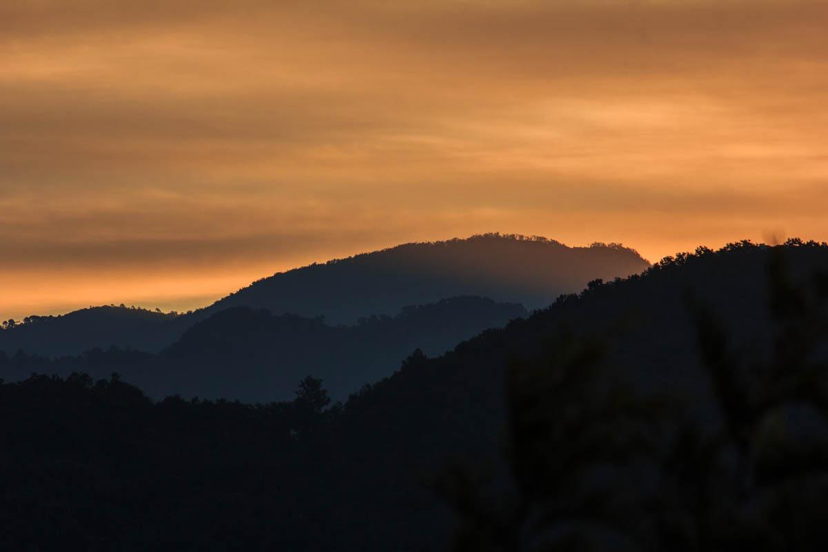 Sunrise - Dehradun, December 2014