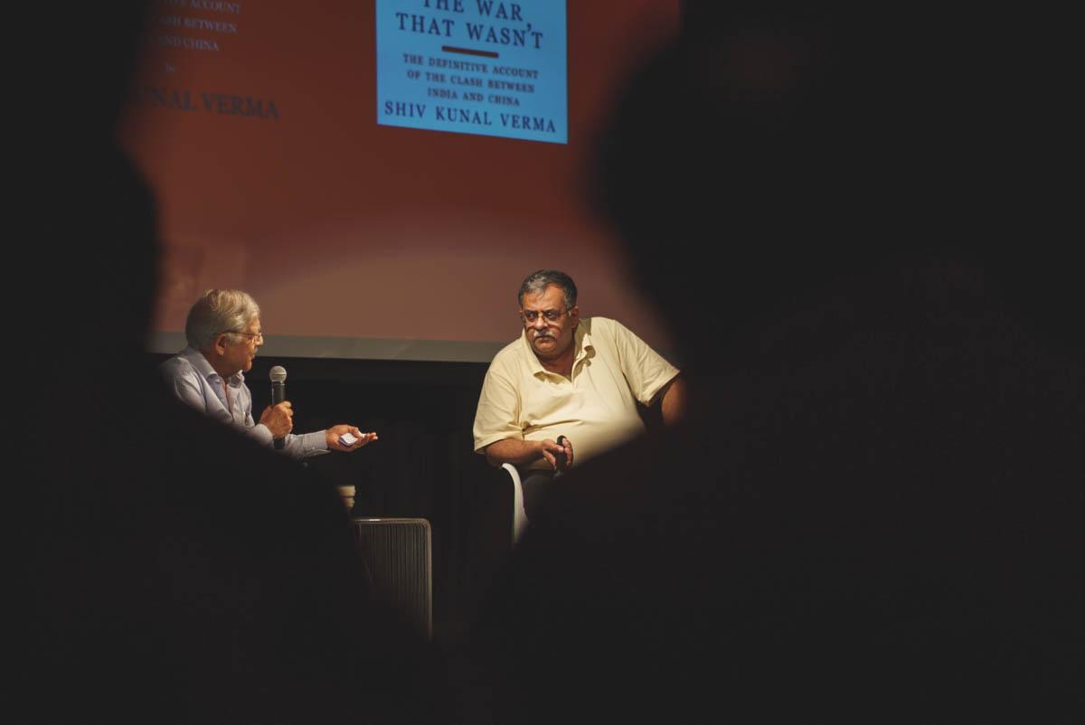"Book launch - ""The War That Wasn't"" - Mumbai, March 2016"