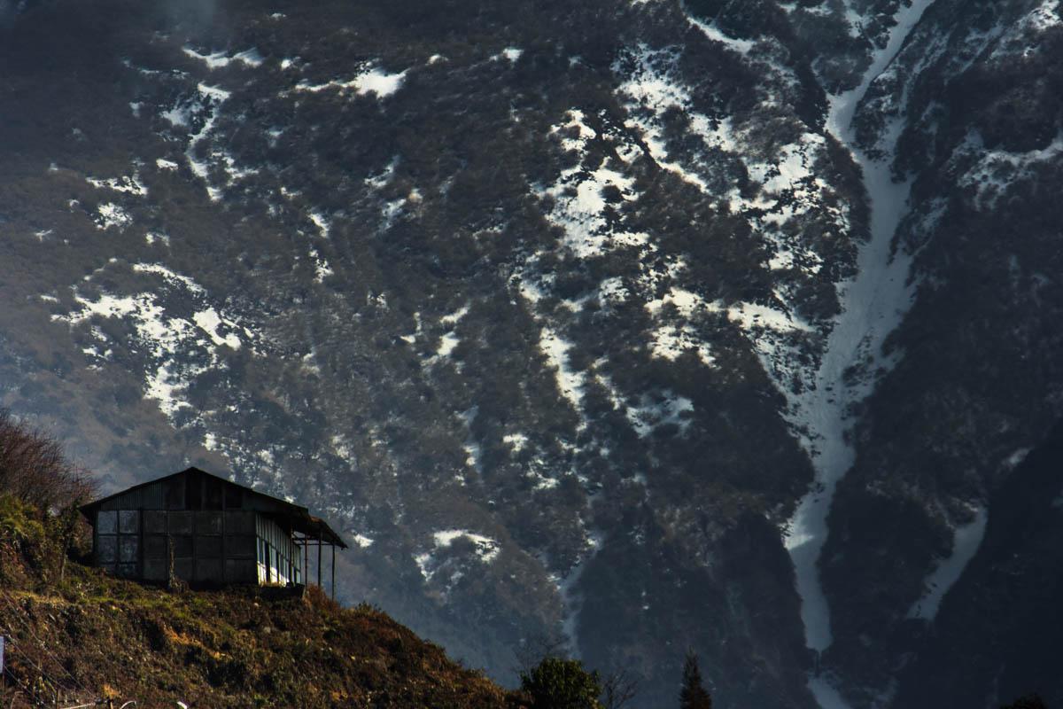 Enroute Mayudia Pass - Arunachal Pradesh, January 2016