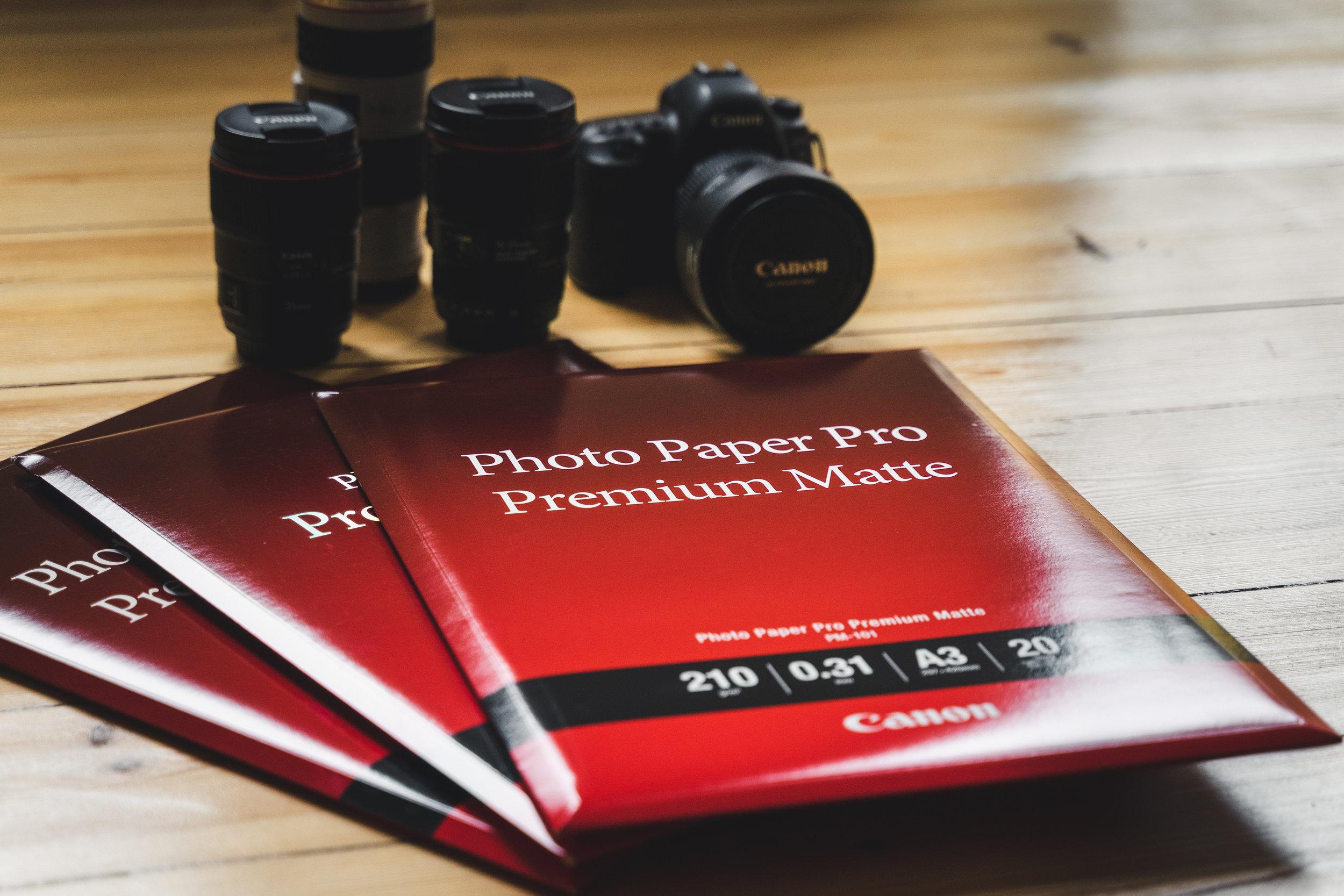 Canon Premium Photo Papers