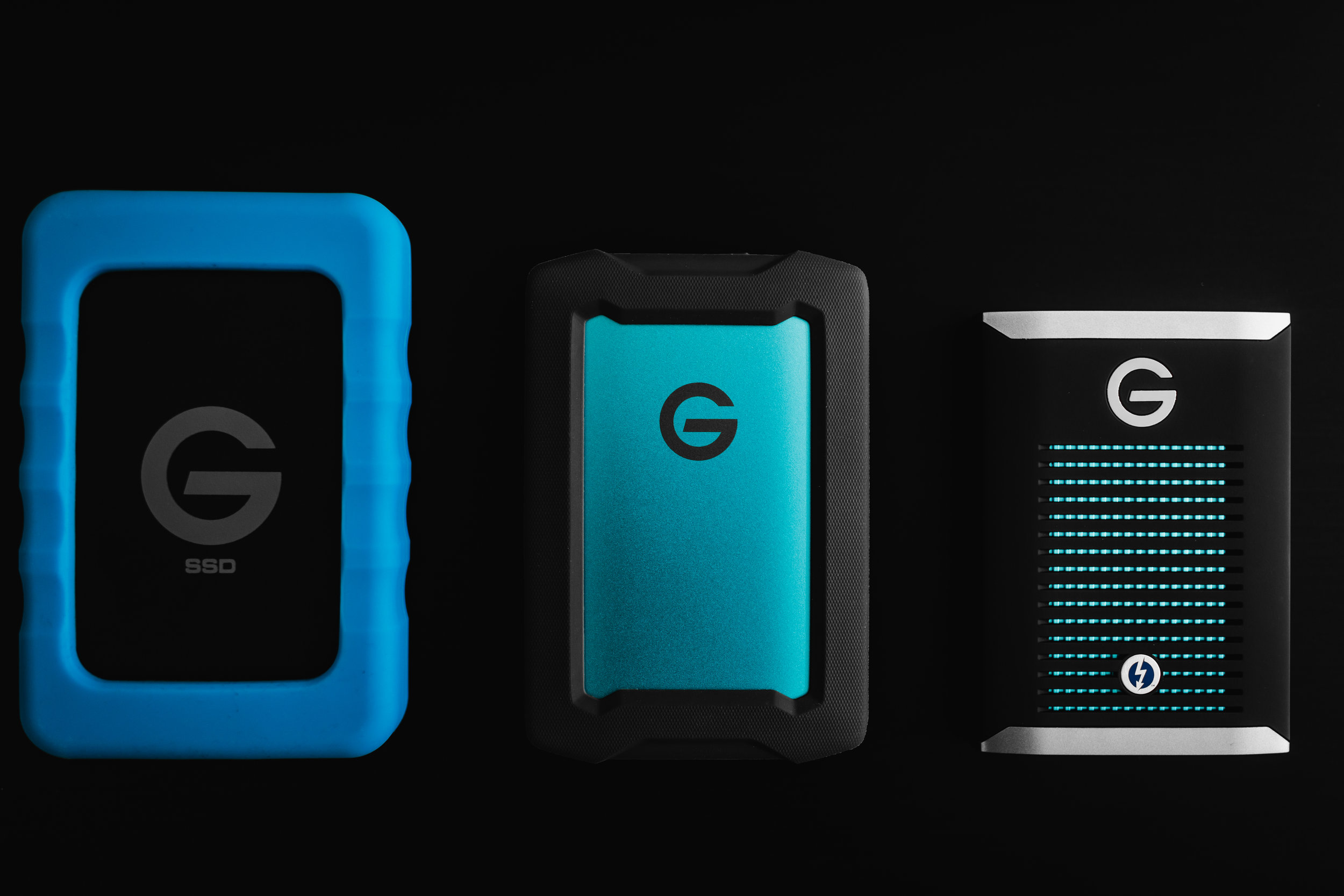 G-Technology's portable solutions