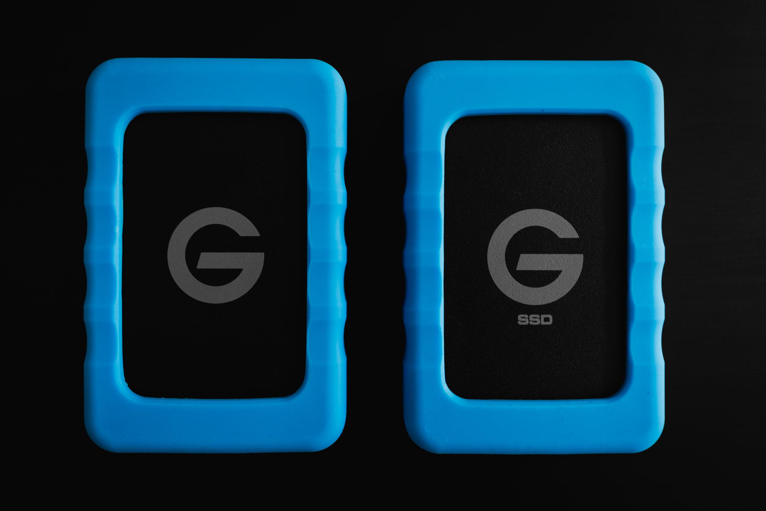 G-Technology G-DRIVE ev RaW & ev RaW SSD
