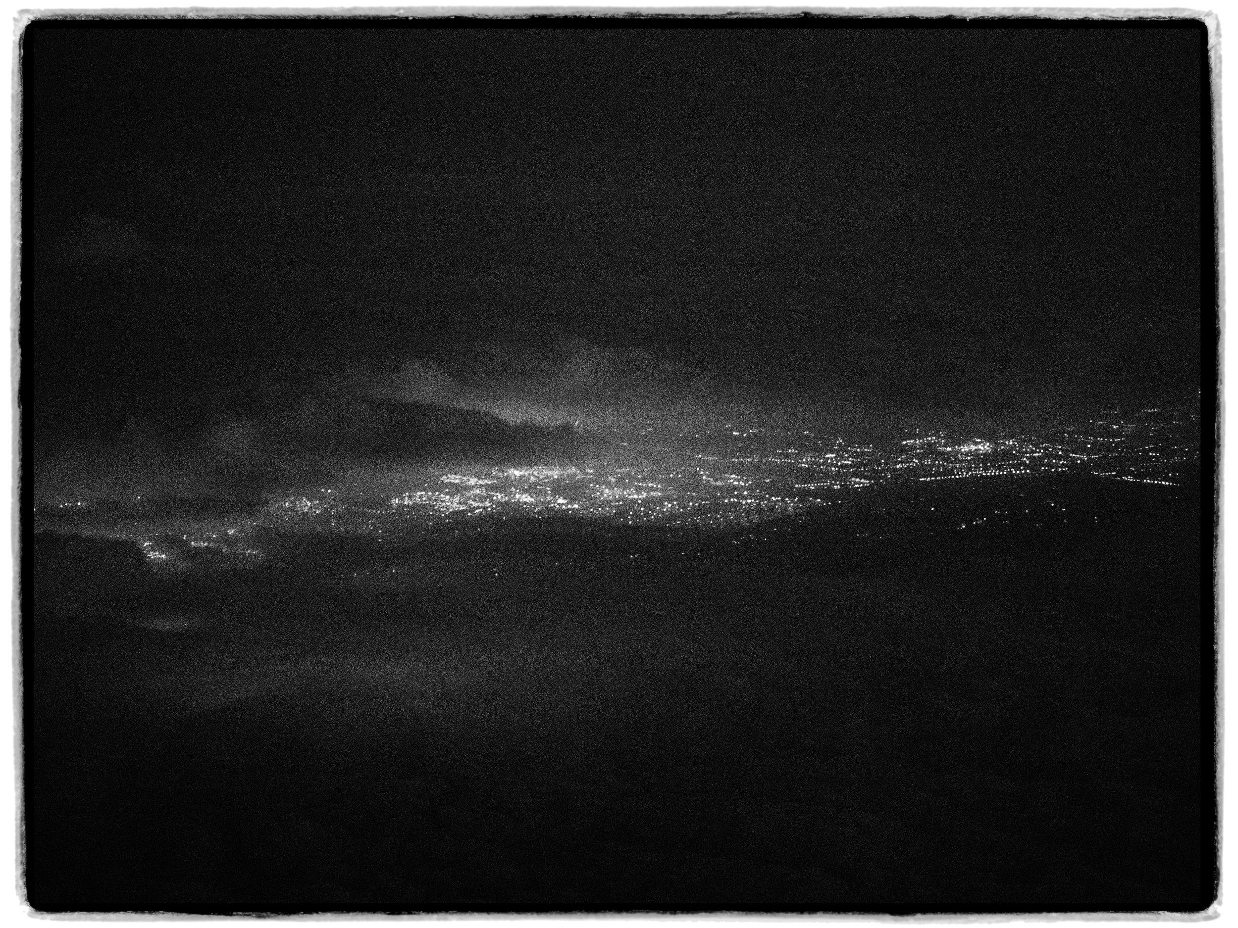 Dawn over Carolina Island
