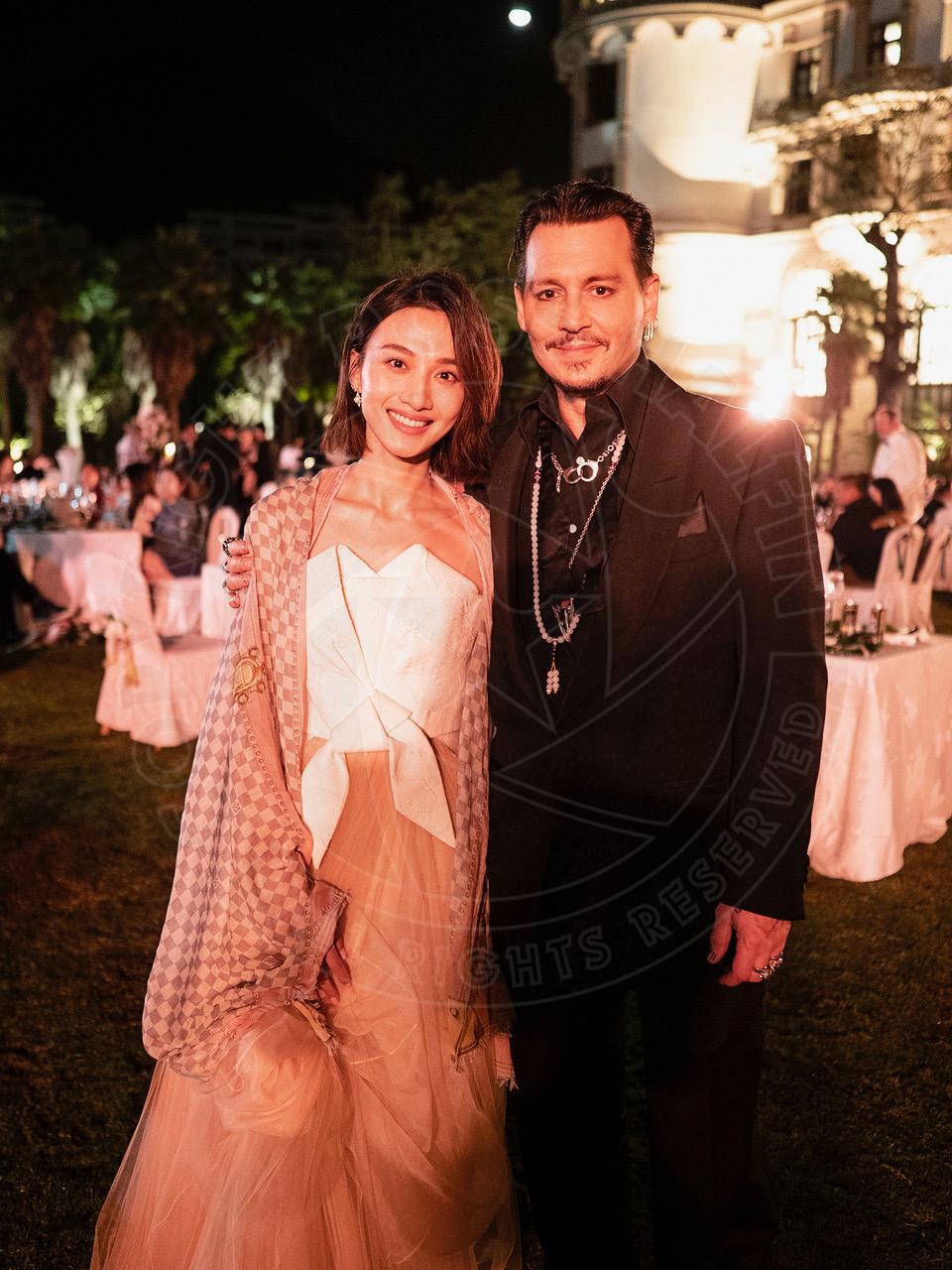 With Joyce Feng