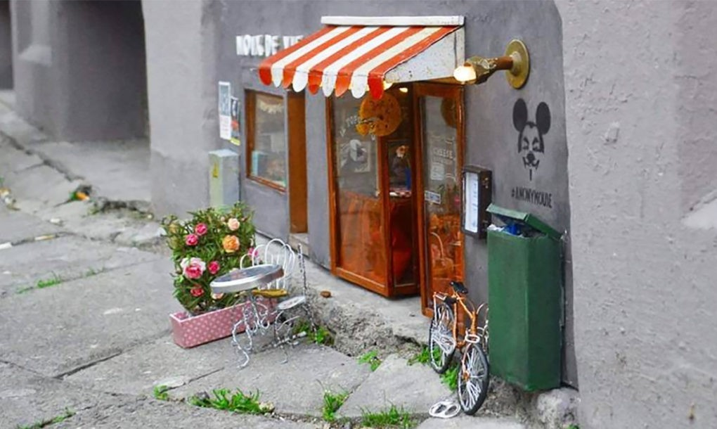 Miniature store front (example photo)