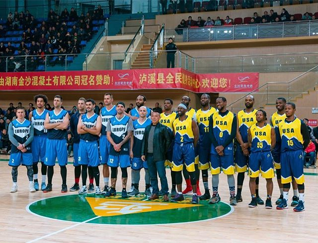 Euro vs USA in Hunan Province. Thanks to all the guys who came out to play. Good crowd and good show 🙏🏼