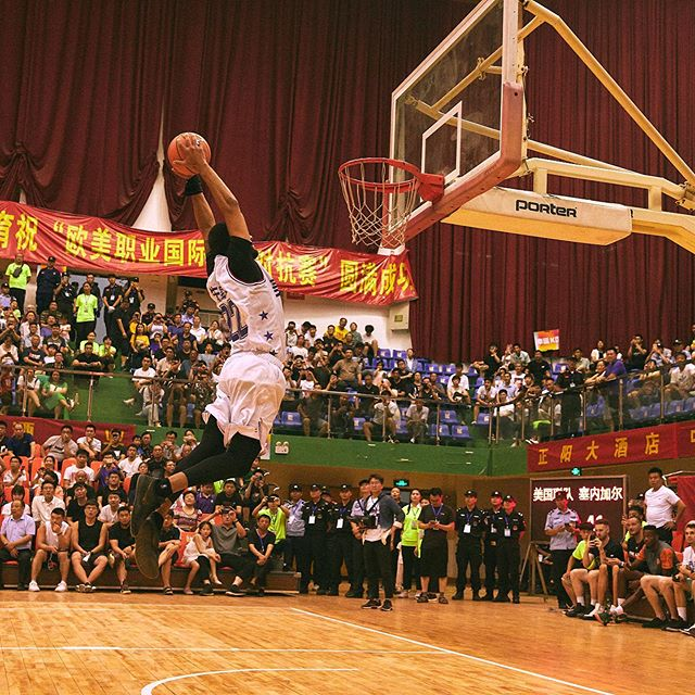 Shots from our 3 country tournament last week in Henan Province China. Competitive games and a great crowd. Thanks to everyone who participated 🙏🏼 #篮球 #overseasbasketball #basketball