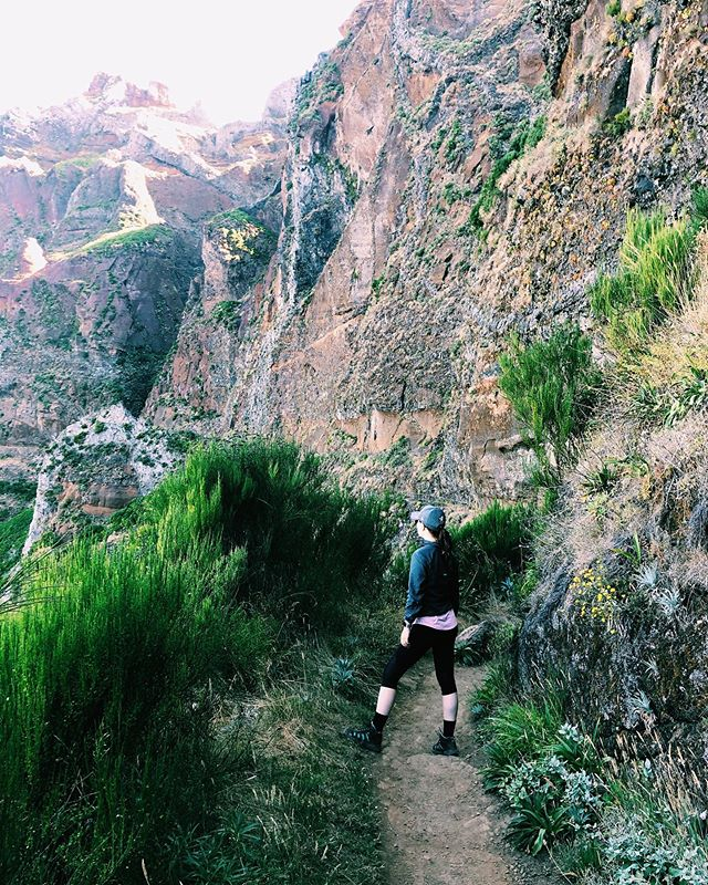 Somewhere between the mountains. 🌳 #picodoarieiro #picoruivo #madeira #endlessstairs #eräily #vilmavaeltaa