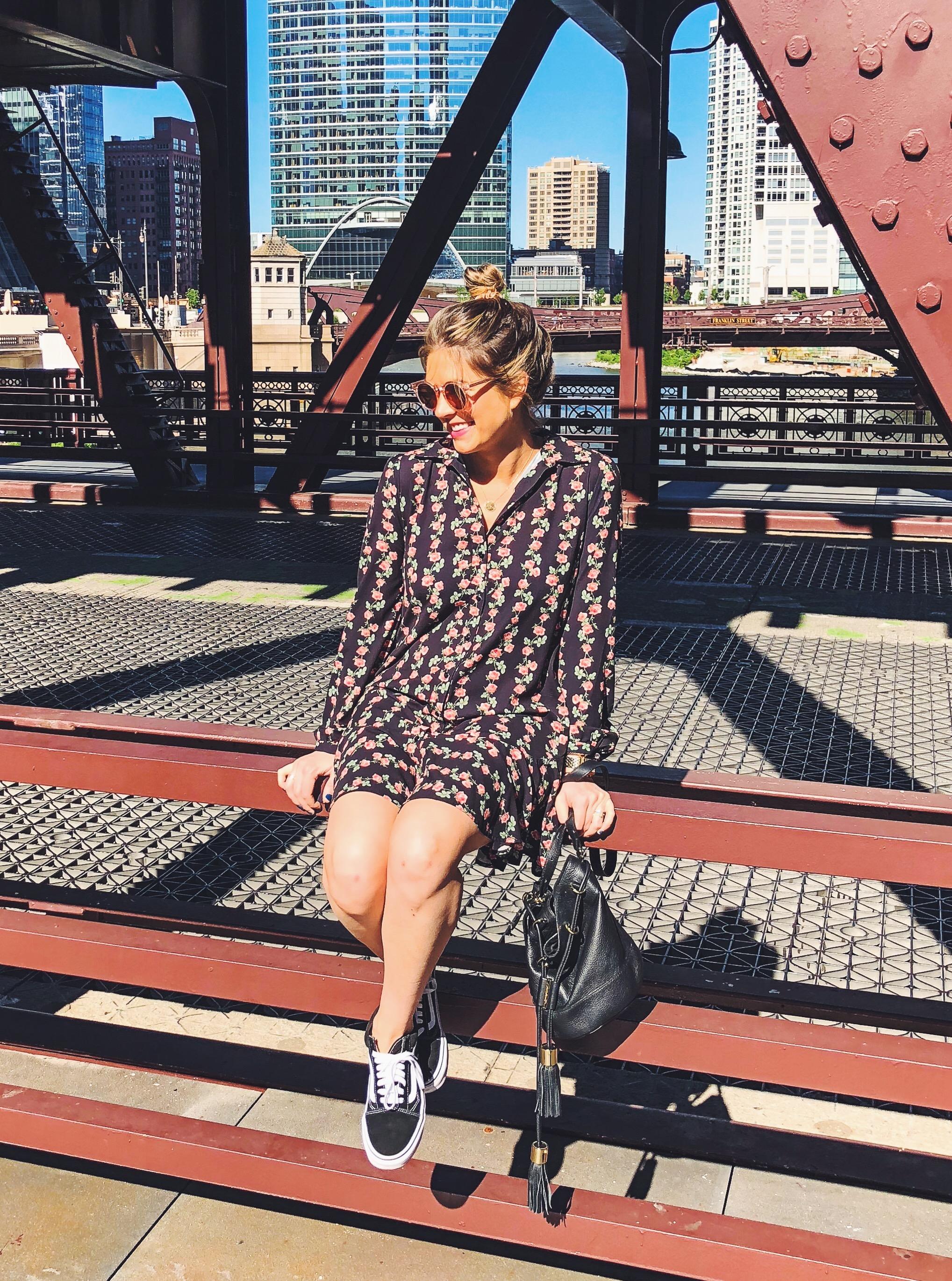 erin fetherson dress   see by chloe bucket bg