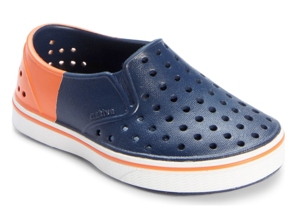 Miles Colorblock Slip on Sneaker: OK so I know I won't have a kid old enough to wear these for a while, but my sister just bought some of these shoes for her son Jack (aka the little cutie you probably see all over my IG stories) and they are the comfiest and easiest shoes! Plus they are way cheaper than the regular price so why not stock up?!