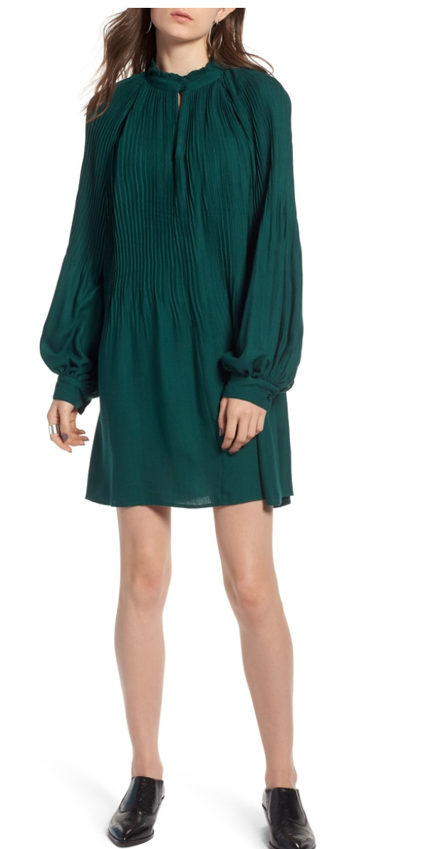 Treasure & Bond Mini Dress - great for all sizes, press or regs - love this with booties for fall or leather sneakers for a more casual but still elevated look.