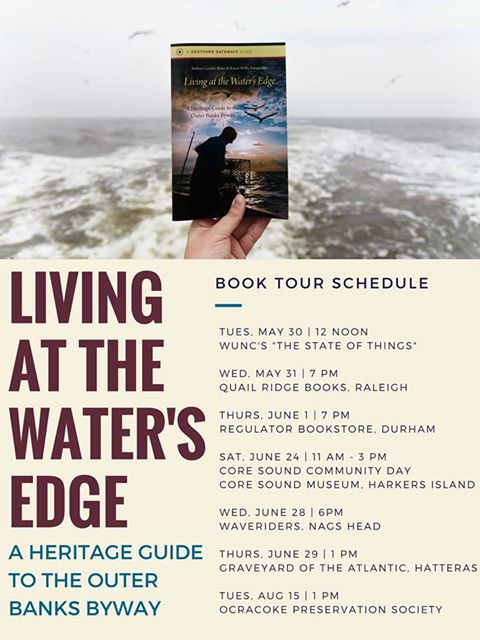 living at the water's edge book tour