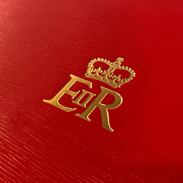 The Royal Cypher #eiir #despatchbox #madeinengland