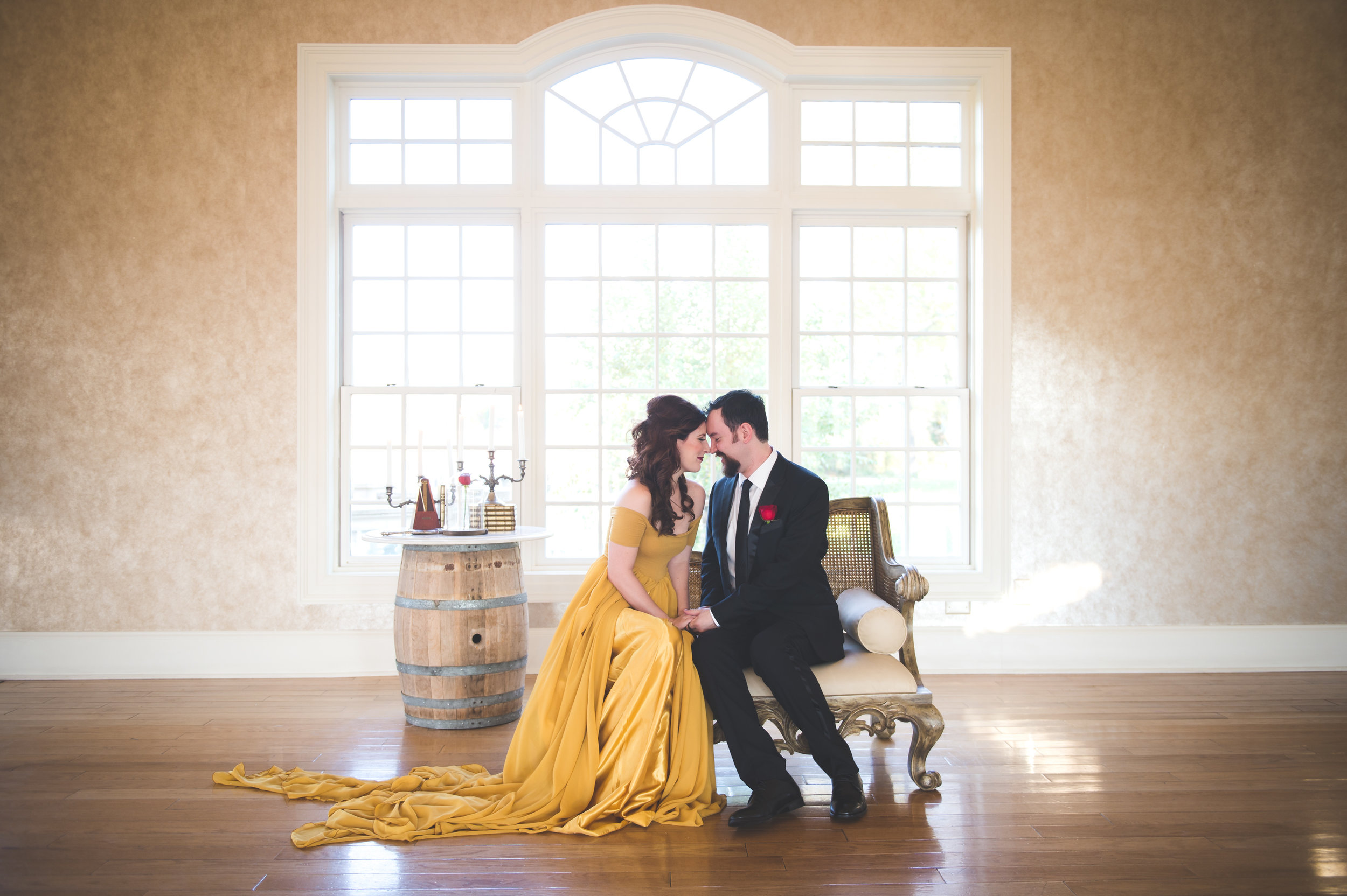 Beauty and the Beast Engagement