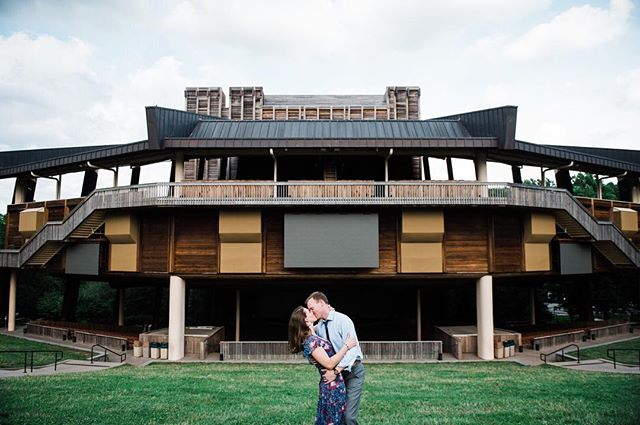 Wolf Trap is an incredibly special place to me- I was absolutely blessed to get to be their photo intern 9 years ago (!) as a senior in college. It's also a special place to Shauna and Cam, because that's where they got engaged!! So it made perfect sense to photograph their engagement session at Wolf Trap - the Filene Center is just one of the stunning backgrounds we found at the park! #thelockandco #northernvirginiaphotographer #wolftrap #filenecenter #engagementphotos #engagementphotography #engagementsessions #helikeditsoheputaringonit #mastinlabs