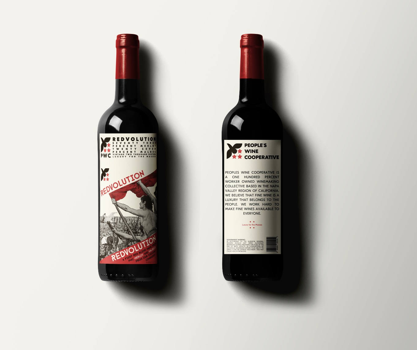 PWC Wines - Branding, Label Design, Typography