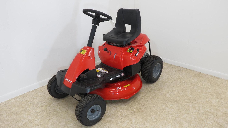 CRAFTSMAN R110 10 5-HP 30-in Riding Lawn Mower — Gazelle Power Equipment
